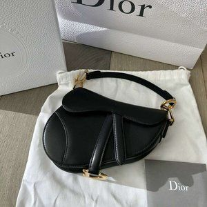 🚢NWT Christian Dior Mini Saddle BagWALLET🎹
